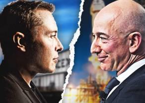 ¡Amazon le toma manía a Elon Musk! Bezos; vaya con el tío... ¿Qué es lo que no sabemos? ¿SpaceX bajo el nombre de Alphabet?