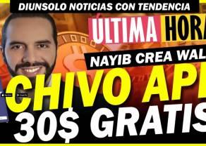 Bukele regalará 30 USD en bitcóin a quien use Chivo, la nueva wallet de El Salvador