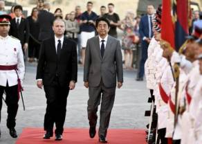 Criptodivisas según los 12 líderes mundiales. Arun Jaitley, Shinzō Abe, Joseph Muscat - parte tres