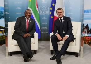 Criptodivisas según los 12 líderes mundiales. Vladimir Putin, Emmanuel Macron, Cyril Ramaphosa - segunda parte