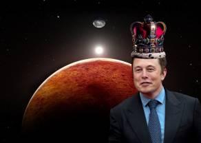 El emperador de Marte, Elon Musk; la estrella fugaz. ¿Qué estará tramando con Baby Doge Coin?