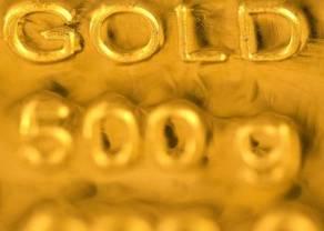 El oro dentro de un lateral amplio bien definido