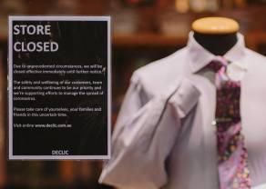 El sector de moda está en peligro, los empleados temen reducciones de empleo. Inditex asegura que no habrá ERTE en abril