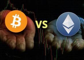 ¡Ethereum derrumba al Bitcoin! ETH vs BTC; una lucha de lo más desigual. ¡Las criptomonedas del futuro se van al traste!