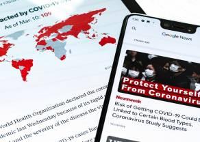 Las consecuencias del coronavirus. Sólo el Nasdaq se salva de las caídas en Wall Street