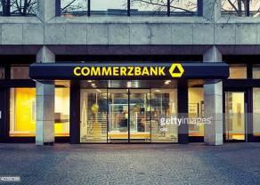 ¡Lo de COMMERZBANK, es ver y no creer, el precio de su acción lleva corrigiendo ya un 7%!
