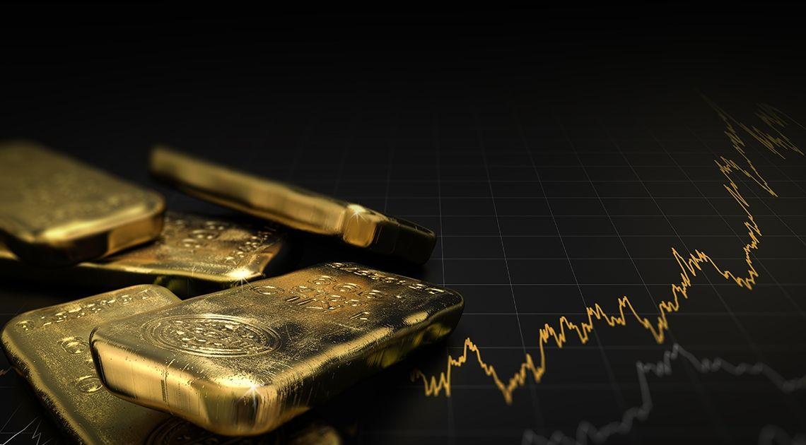 El oro en un momento interesante