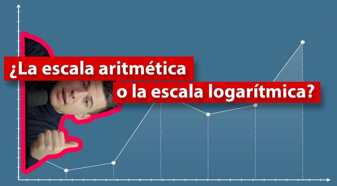 La escala aritmética o la escala logarítmica - ¿Qué escala es mejor?